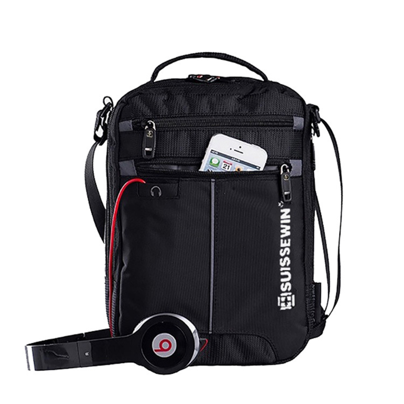 Swiss Shoulder Bag Leisure Briefcase Small Messenger Bag For 9.7