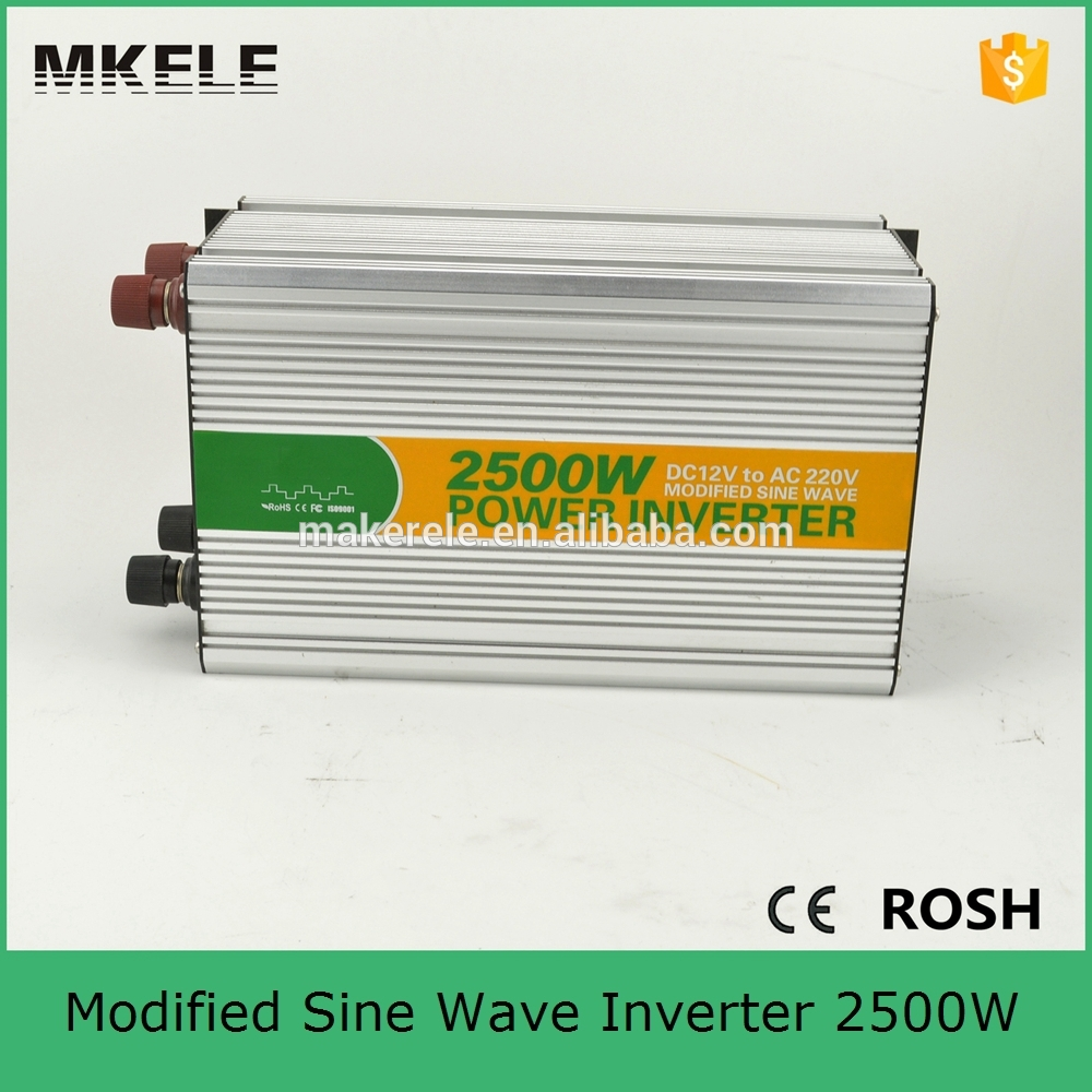 MKM2500 122G off grid dc ac 2500w 12v to 220vac auto power inverter,aims power inverter with usb 5v500ma for home use