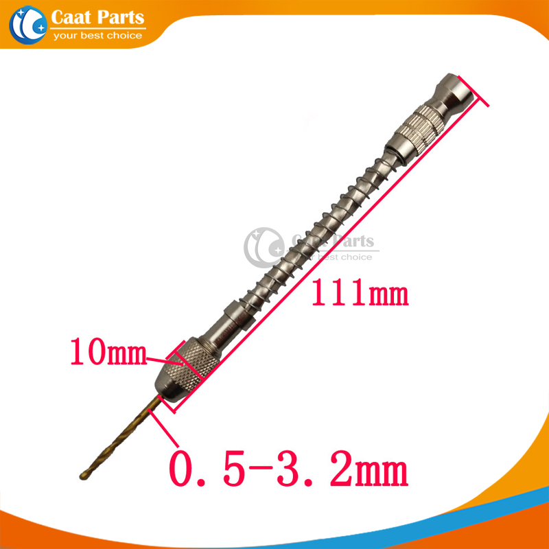 Free shipping! 0.5-3.2mm Semi-Automatic Hand Drill Manual Drilling Hole Tools. garden and agriculture hand tools manual auger ground hole drilling machine 52cc