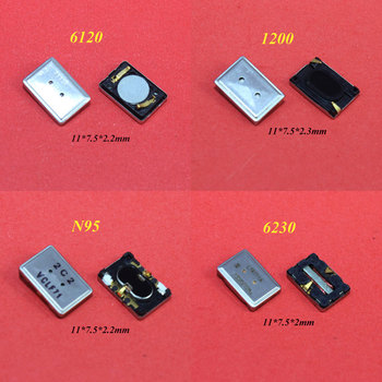 ChengHaoRan 1 Piece Brand New Louder Speaker Buzzer Ringer For Nokia Lumia 6120 1200 N95 6230 replacement 11*7.5mm image