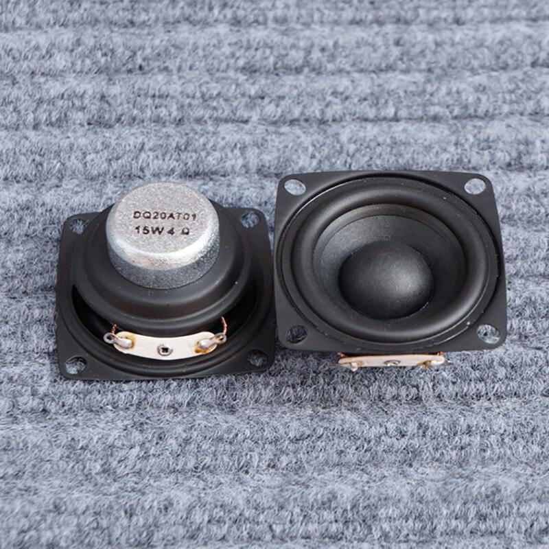 Image 5 - 2pcs 2 inch Full Range Portable Speaker Sound Bar 4 ohm 8 ohm 15W Outdoor Speakers DIY HiFi Boombox Home Theater 5.1 Loudspeakerspeaker 4ohmrange speakerfull range speaker -