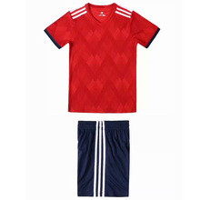Blank jersey football uniform children's football training suit running sportswear sportswear soccer uniforms and shorts custom various old football jerseys matching suit football training suit blank customizable sportswear suit