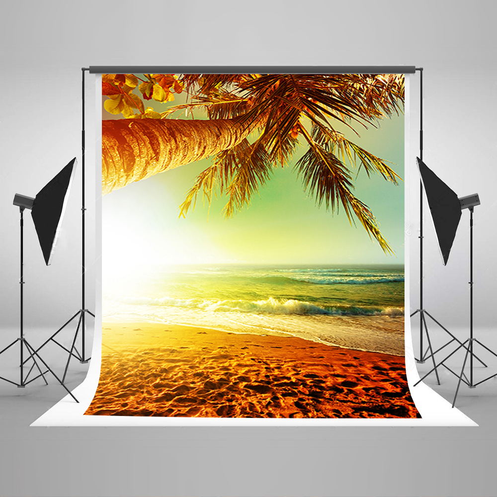 Valentine's Day Photography Backdrops Sea Beach Background for Photo Golden Sun Tree Background for Photographic Studio mary pope osborne magic tree house 39 dark day in the deep sea