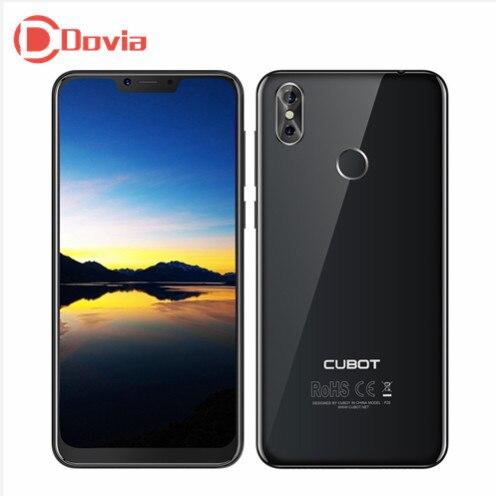 CUBOT P20 4G téléphone portable 6.18 pouces Android 8.0 MTK6750T Octa Core 4 GB + 64 GB 20.0MP + 2.0MP double caméra arrière 4000 mAh téléphone portable