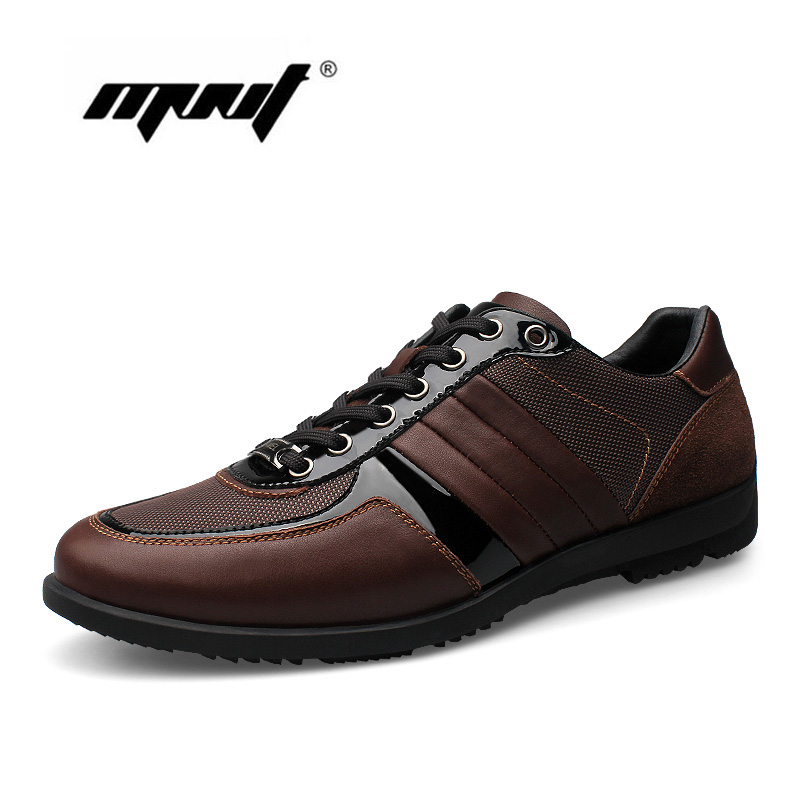 Genuine Leather Men Casual Shoes Outdoor Soft Working Shoes Handmade Outdoor Flats Shoes Men Zapatos Hombre male casual shoes soft footwear classic men working shoes flats good quality outdoor walking shoes aa20135
