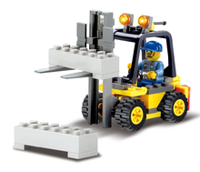 Kazi 8041 City Forklift Blocks 70pcs Bricks Building Blocks Sets Education Toys For Children