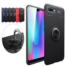 KpGiong Magnetic Car Holder Case For Huawei P20 Pro P20 P10 P8 lite 2017 Mate 10 Case 360 Rotating Finger Ring Phone Cover Capa(China)