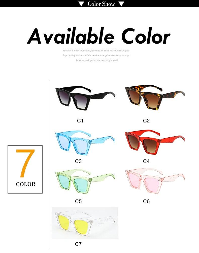HTB112AWl6nD8KJjSspbq6zbEXXaG - AFOFOO Fashion Women Sunglasses Cat Eye Glasses Lady Brand Designer Retro Sun glasses UV400 Shades Eyewear Oculos de sol
