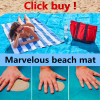 Brand Sand Free Beach Mat Blue Green Red 200 150cm 200 200cm Sand Free Beach Mats