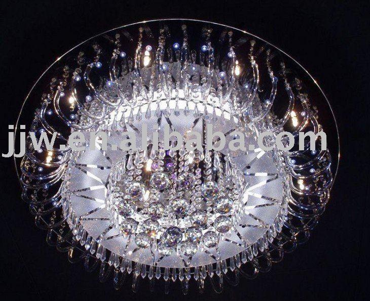 Led Kristall Lampe Deckenleuchte Moderne Wohnzimmer Lampen In Led