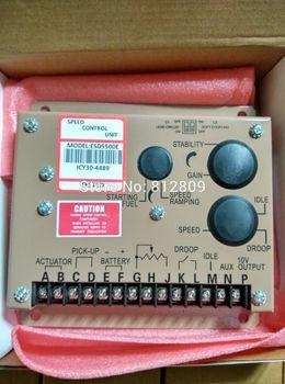 Motor hız kontrol valisi ESD5500E için dizel jeneratör ünitesi kontrol çift kapasitörler bazı parçalar almanya'da yapılan