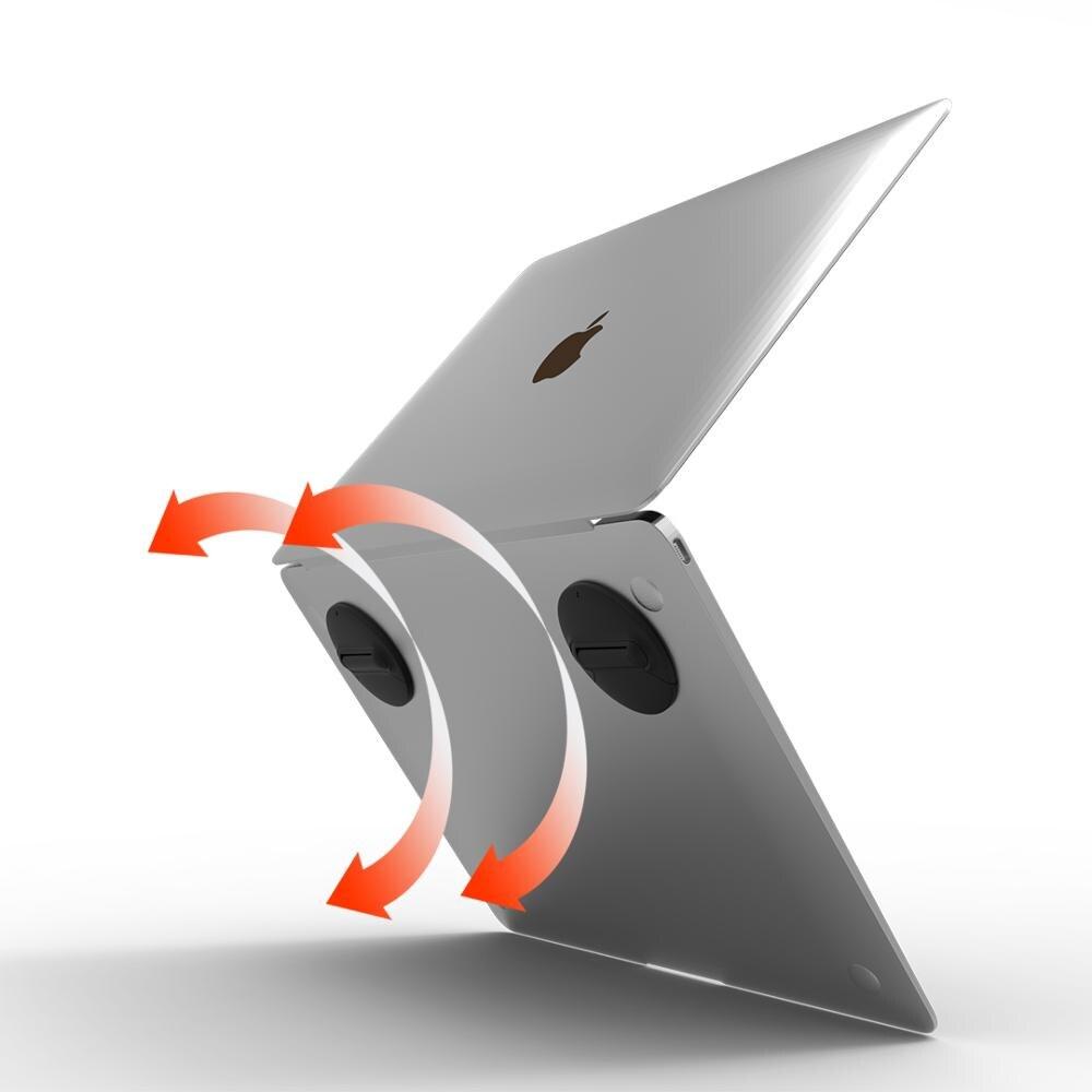 Image 3 - Подставка для ноутбука, портативный охлаждающий держатель для ноутбука, подставка под Макбук, подставка для планшета/аксессуары для ноутбука/подставка для ноутбука/держатель для ноутбука-in Охлаждающие подставки для ноутбука from Компьютер и офис