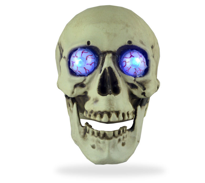 Halloween Skull Props Ghost Festival Horror Glow Ghost Head Tidy Scary Props Secret Room Skull Ornaments Halloween Decorations