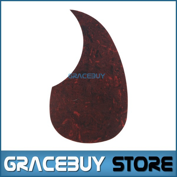 40 41 42 Acoustic Guitar Pickguard Soundhole Pick Guard R64mm Brown Color - Alice A025H