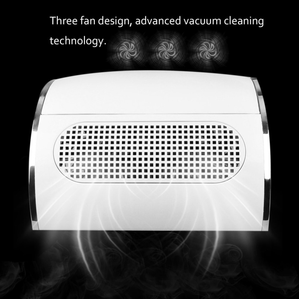 Professional 1 Set Nail Vacuum Cleaner Nail Dryer Three Fans ...