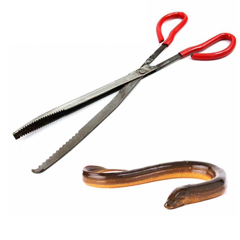 pincers loach eel crab trap fish traps carbon clip pliers Rat pliers Loach clamps snake cricket clamp razor clamp Chest lobster Щипцы
