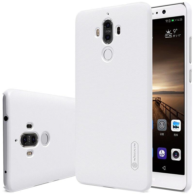 Untuk Huawei Mate 9 kasus Nillkin Frosted Perisai Keras Slim Matte - Aksesori dan suku cadang ponsel - Foto 6