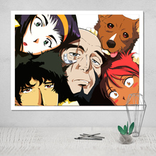 Photo Canvas Poster Cowboy Bebop cuadros decoracion hogar abstractos modernos nordica pop art