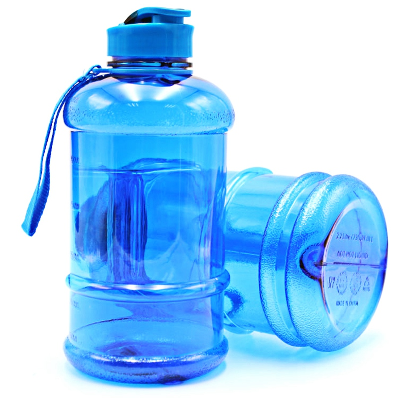 1.3L Portable Sport Kettle Water Bottle Sport Bottle Drinking Kettle Outdoor Cycling Picnic Camping Hiking Kettle Gym PETG Pot