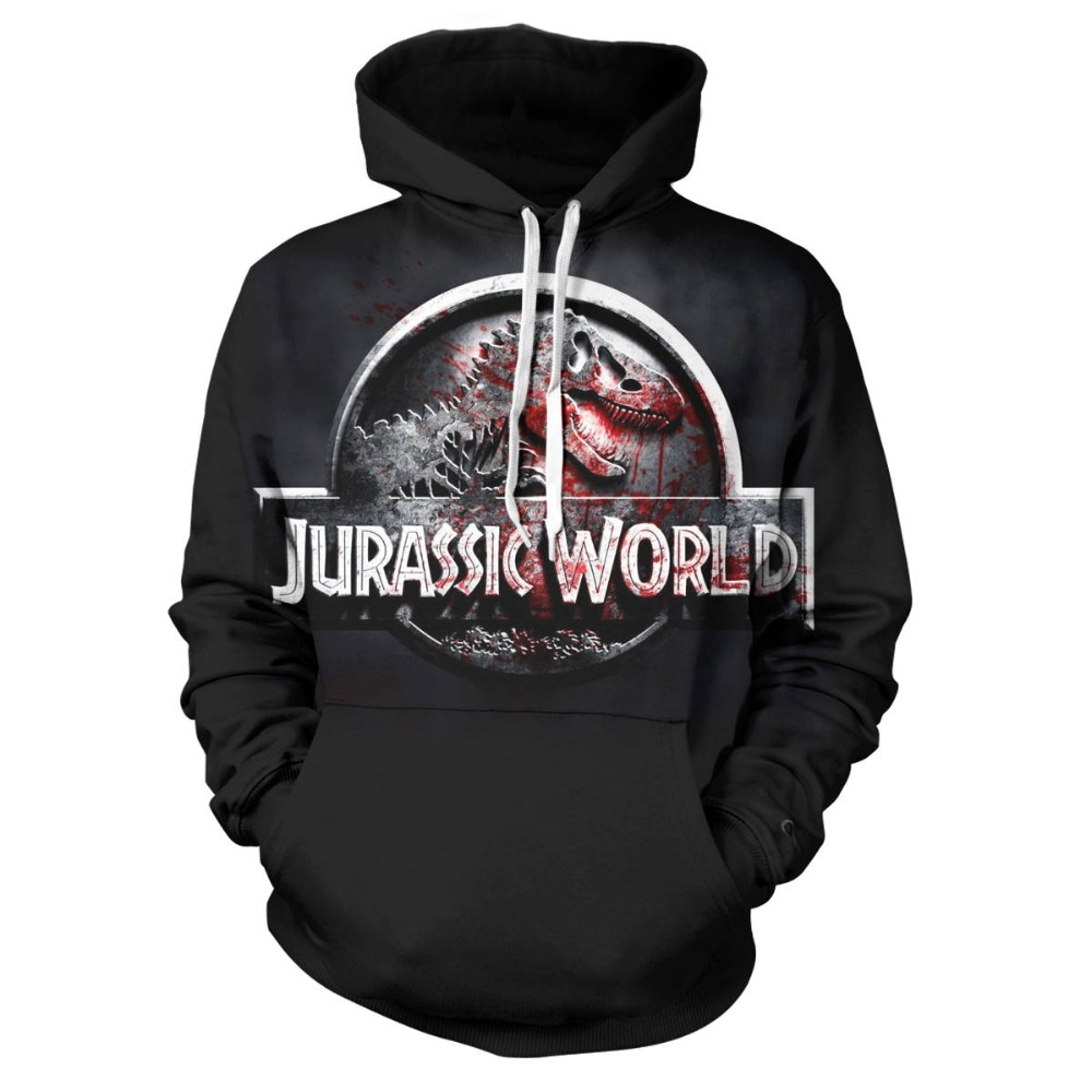 Men's Clothing Ingenious Jurassic Park Sweatshirt Men Women Pullover Fleece Jacket Jurassic World The Dinosaur Hoodie Unisex Jumper Casaco Feminino