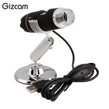 Promo offer Gizcam 1000X Zoom 8 LED USB HD 2MP Digital Microscope CMOS Sensor Endoscope Video Camera Micro Cameras Magnifier
