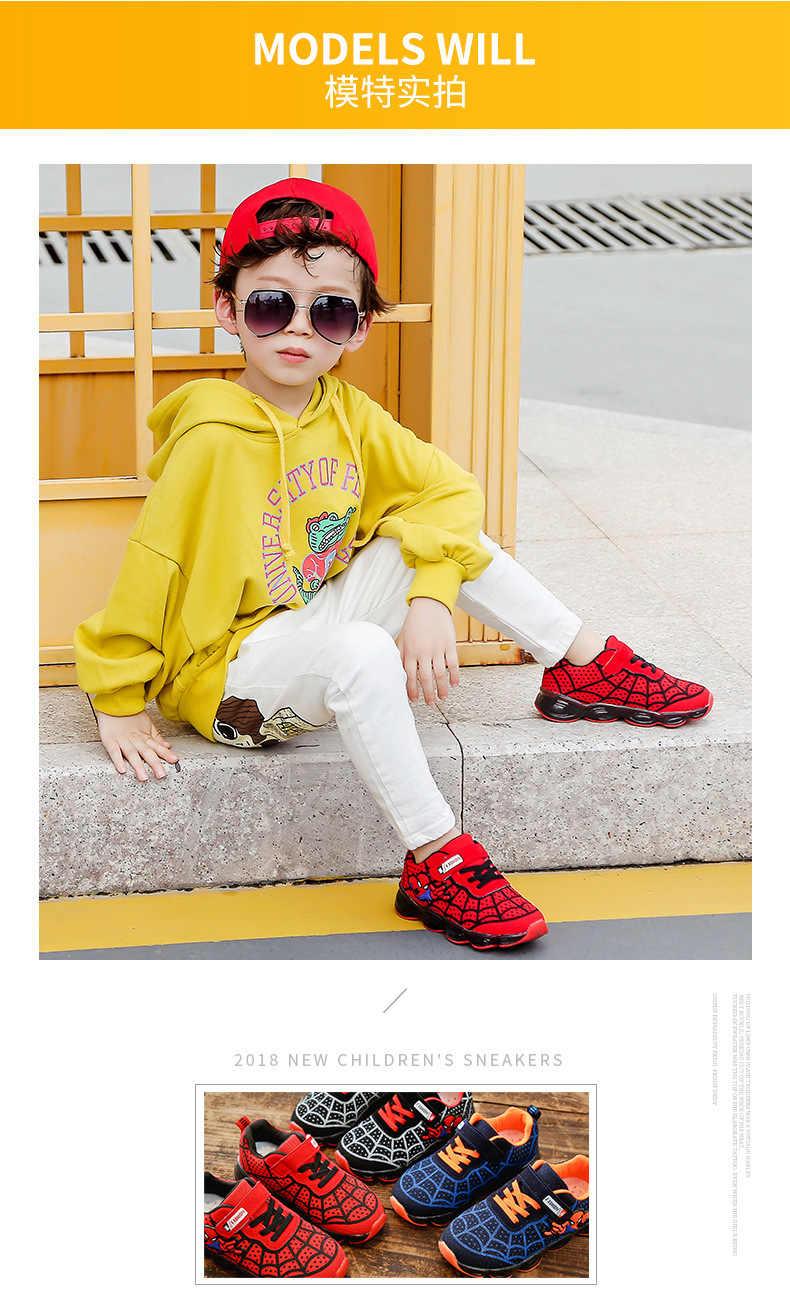 Davidyue เด็กเรืองแสงรองเท้าผ้าใบ light glowing USB ชาร์จส่องสว่างเด็กหญิง LED เด็กรองเท้า