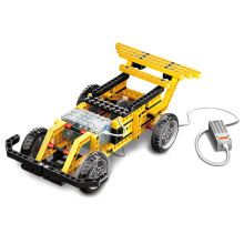 Newest Wange Toys Building Blocks Of Electronic Power Machinery 4 in 1 Assembled Model Speed Car Street Sweeper Basketball Frame