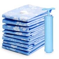 DR.STORAGE Vacuum Storage Bags Pack of 5 Closet Organizer Bags for Clothes Comforters Garment Bag Plastic Zakjes Hersluitbaar