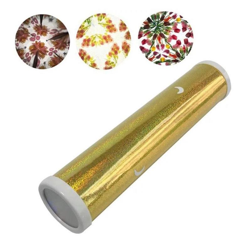Color Diy Rotating Kaleidoscope Kits Kindergarten Child Educational