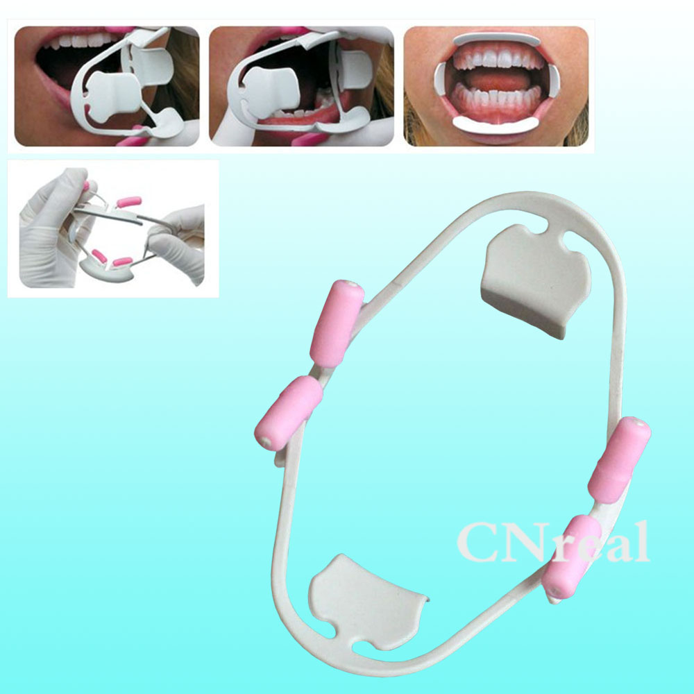 цены 1 piece New 3D Tooth Cheek Expander Retractor Mouth Opener Dental Material