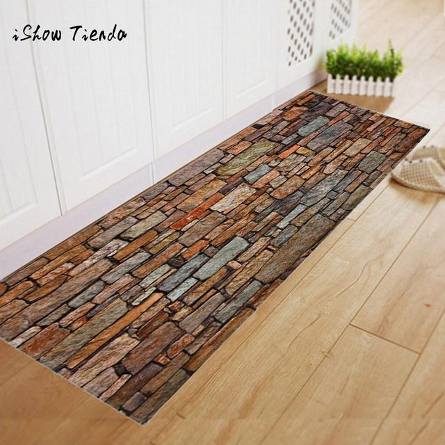 Brick Pattern Dining Room Carpet Gy Soft Area Rug Bedroom Rectangle Floor Non Slip Mat 40x120cm