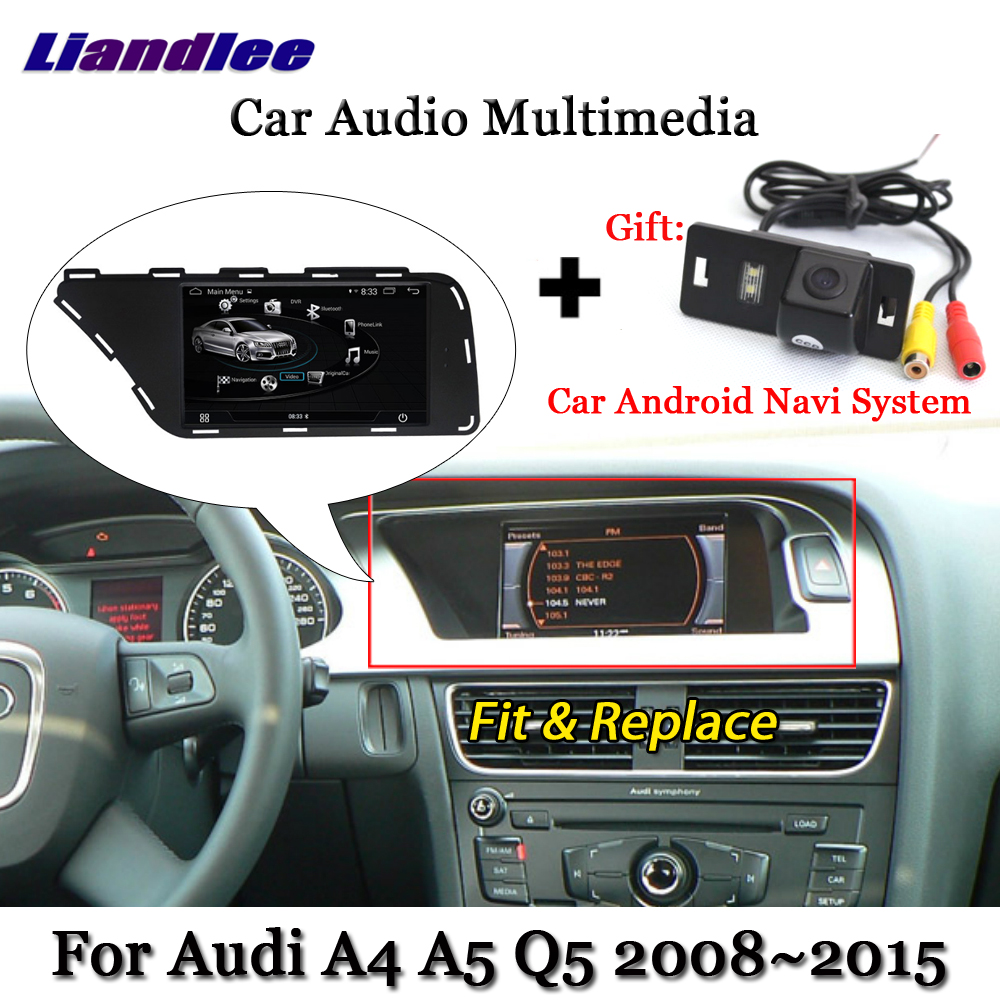 Liandlee Car Android System For Audi A4 A5 Q5 2008~2015