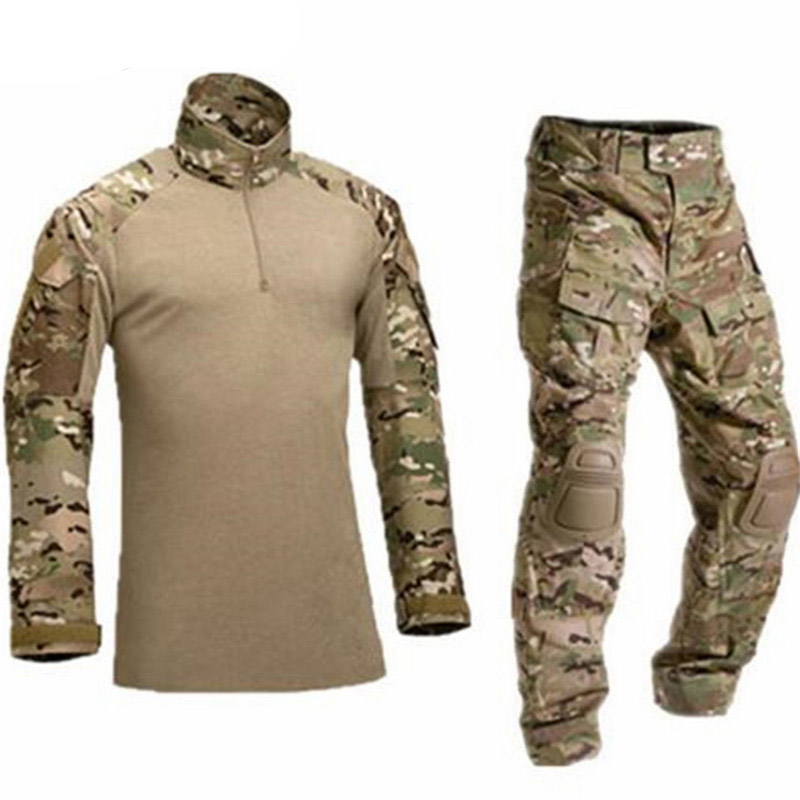 Military Army Tactical Military Uniform Airsoft Combat-proven Shirts Rapid Assault Long Sleeve Shirt America Tactica Shirts Frog Clothing Yet Not Vulgar
