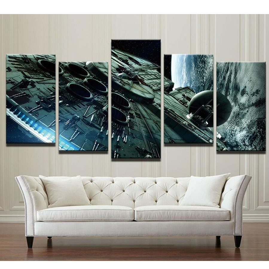 5 pcs diy diamond embroidery space ship painting diamond painting full diamond mosaic picture of rhinestones