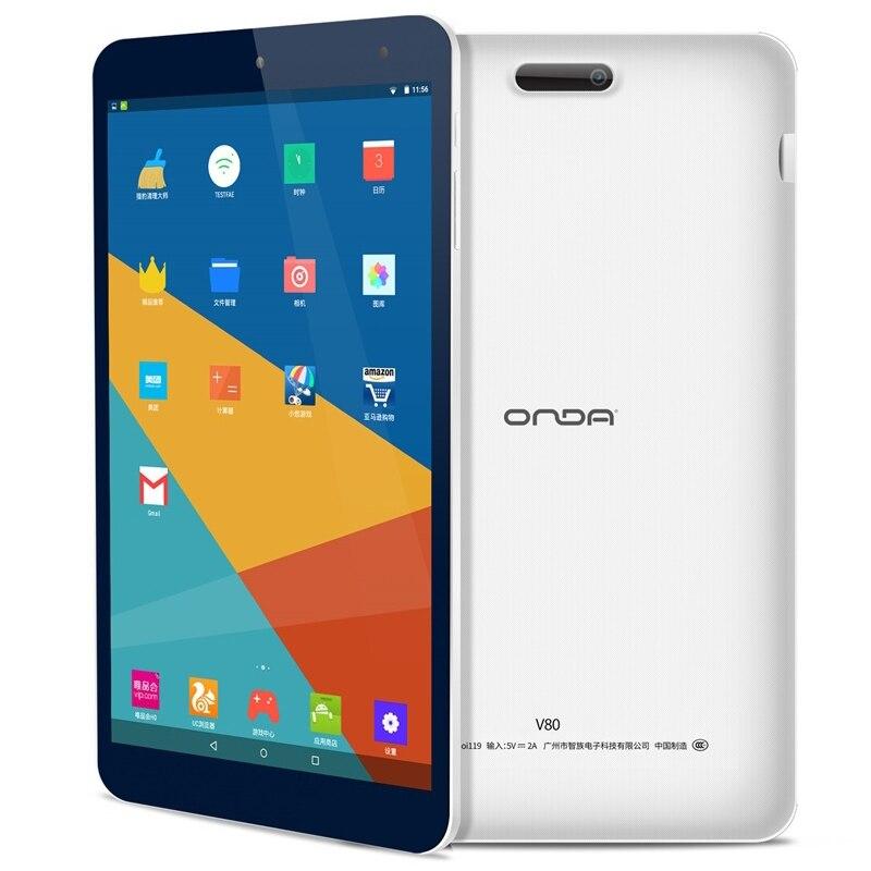 Original 8 pulgadas ONDA V80 Tablet edición básica 2 GB RAM 16 GB ROM Android 7,0 Allwinner A64 Quad Core barato tabletas PC CE