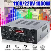1000 Вт домашние усилители аудио hifi бас усилитель мощности