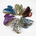 New 12 PCS/sets Fashion Hair Clips Accessories Acrylic Grand Hair Jaw Claw Gift Sweet Hair Claw Clips for women & Girls