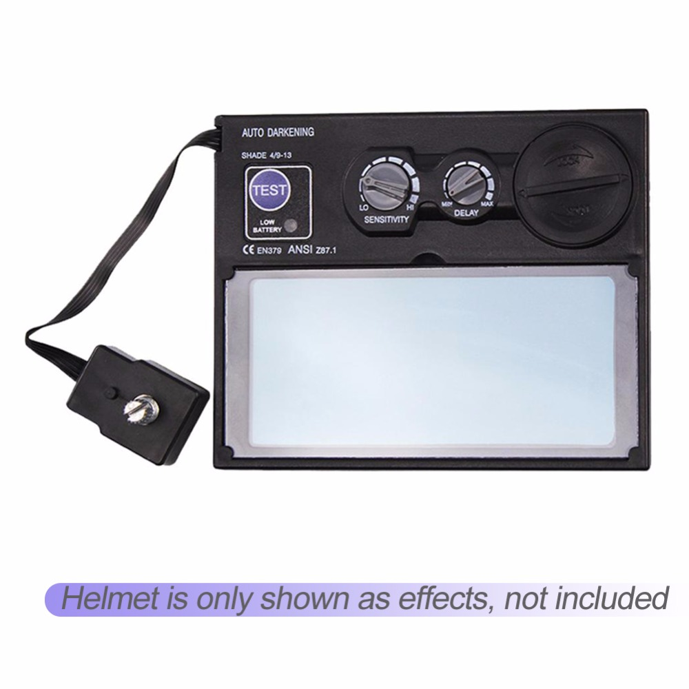 Welding Goggles Lens DIN9-DIN13 LCD Screen Solar Auto Darkening Welding Helmet Mask Goggles Lens Automation UV IR Filter