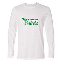 """Powered By Plants"" Unisex Shirt / 4 colors"