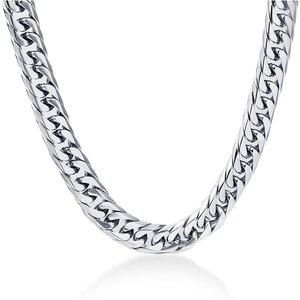 NIBA 8mm wide Men's Necklace 2