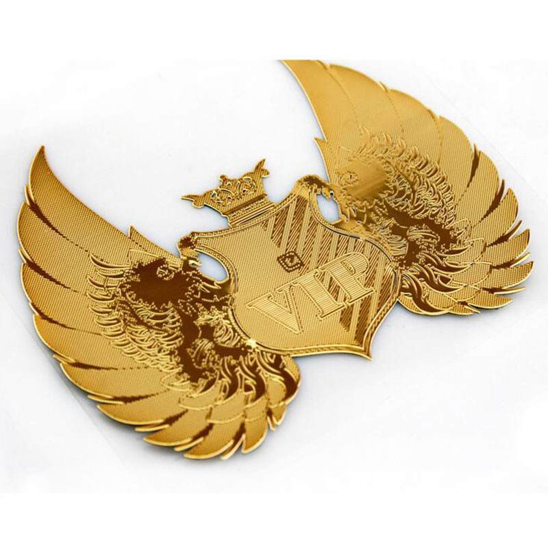 NEUSPEED 7,5 * 6 CM Gold VIP Logo Auto Aufkleber Auto Ein Emblem Symbol Kreative Personalisierte Lustige Auto-styling Aufkleber