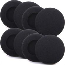 Linhuipad 5000pcs Headphone replacement foam ear pads 50mm sponge pads 5cm headset foam ear cushions 10pcs replacement 50mm earphone ear pads earpads sponge soft foam cushion headphone headset cover cap