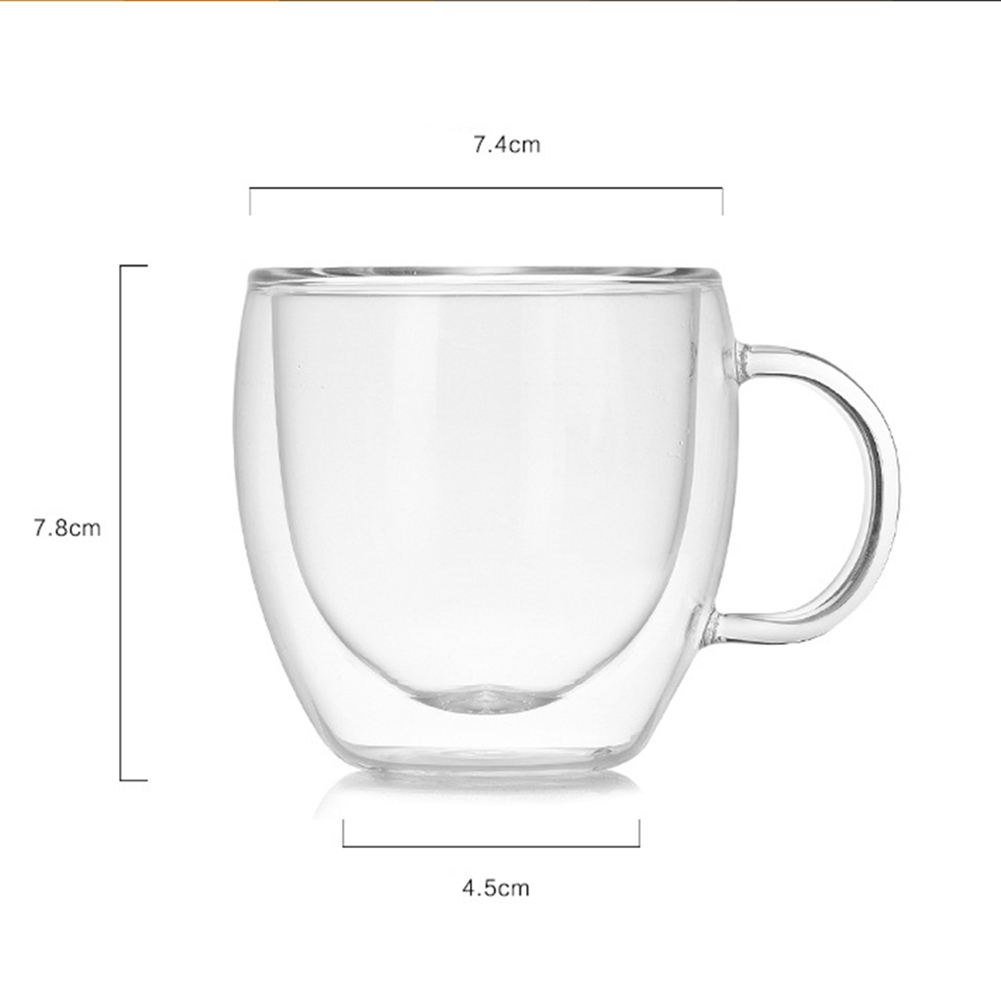 Double Wall Thermal Coffee Glass 3