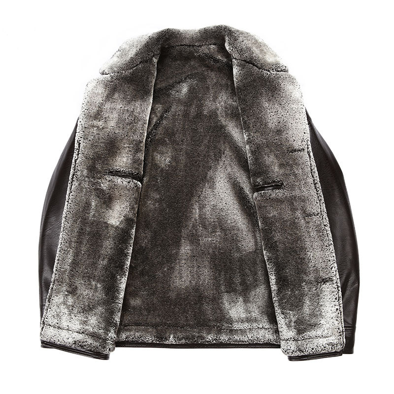 Compare Prices on Mens Leather Fur Coats- Online Shopping/Buy Low