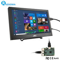 10.1 / 11.6 Inch 1920x1080 IPS LCD Monitor for PS3/PS4/XBOx360 GAME with VGA/HDMI Interface Computer Monitor PC Raspberry Pi 2B