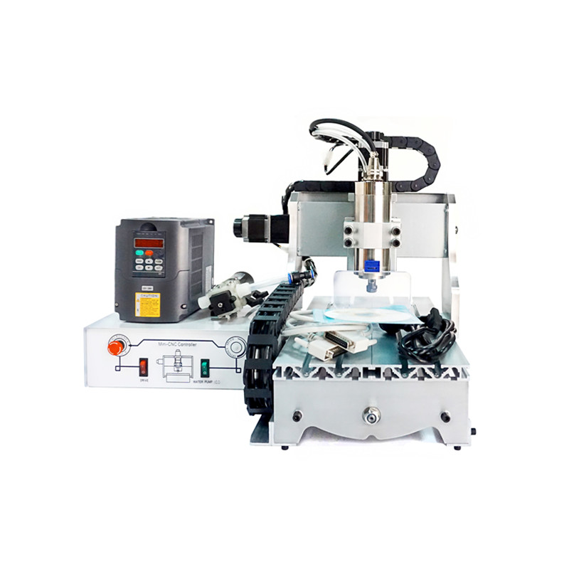 цена на 800W mini cnc router 4 Axis 3020 Water cooled spindle 3axis wood cnc milling machine