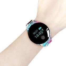Цветной сенсорный экран Smartwatch Обнаружение движения Smart Watch Спорт Фитнес Мужчины Женщины Носимые устройства для IOS Android