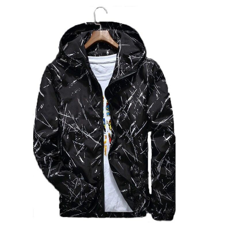 Mens Summer Light Weight College Jacket S 5XL Elasticated Hem /& Cuffs Full ZIP