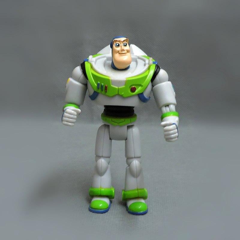 9 cm = 3.5 polegada originale Toy Story 3 Buzz Lightyear PVC Action Figure collection toy, Livraison gratuite