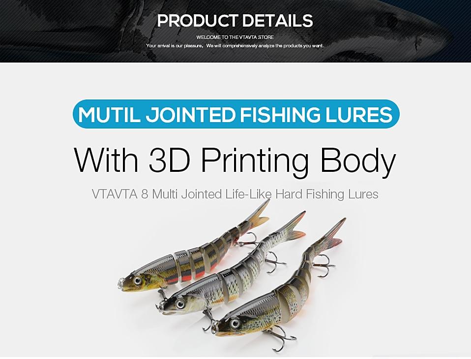 8 Segments  Multi Jointed Fishing Hard Lures_1